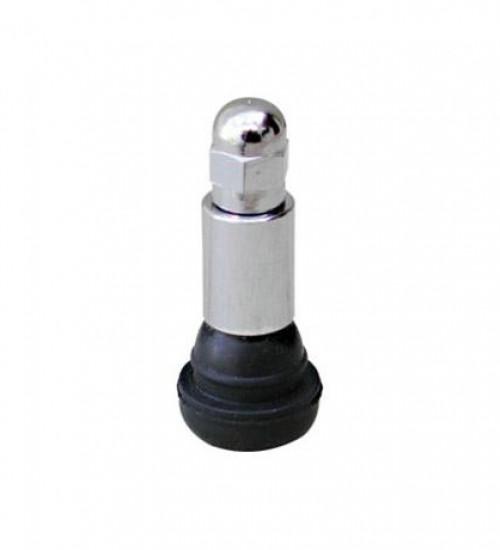 00413TC Válvula TR413 com tampa e capa cromadas