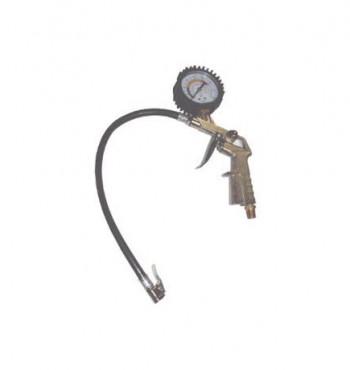 6049 Inflador de pneu e medidor de pressão com relógio