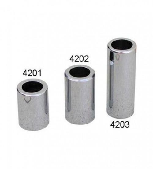 Capas metálicas cromadas para válvulas pneus sem câmara